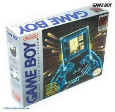 GameBoy - console #grey + Tetris + link cable + official Headphone boxed  MINT