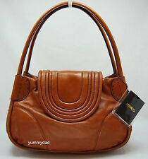 MIMCO UNDER THE RADAR LEATHER DAY BAG IN TAN BNWT RRP$399