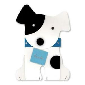 PAPYRUS Thank You - dog holding thank you sign