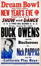 "Buck Owens 16"" x 12"" Photo Repro Concert Poster"