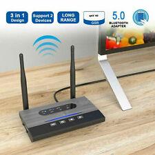 NFC 262ft/80m Long Range Bluetooth 5.0 Transmitter Receiver 3in1 Music Audio