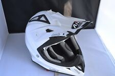 AIROH AVIATOR 2.2 JUNIOR COLOR WHITE GLOSS MOTOCROSS HELMET   Size XS 2013
