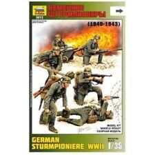 Zvezda 6 cifras Alemán Sturmpioniere II Guerra Mundial 1 :3 5 Kit Construcción