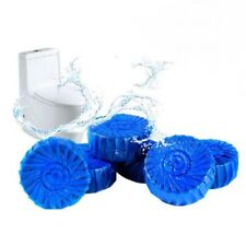 24 Automatic Bleach Toilet Bowl Cleaner Stain Remover Blue Tab Tablet