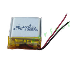 3.7V 100 mAh Polymer Li battery For GPS Camera bluetooth headset sat Nav 402020