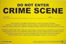 Humiliating Prank Sign - DO NOT ENTER - CRIME SCENE