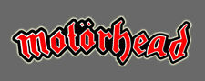 Motorhead heavy metal Motörhead Vinyl Truck Car Window Sticker Decal Sm 4 inch