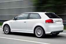AUDI A3 8P 3 DOOR S3 LOOK SIDE SKIRTS