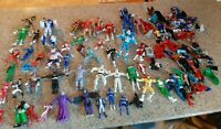 Mighty Morphin Power Rangers Action Figures Bandai 1994-2008 Pieces Huge Lot