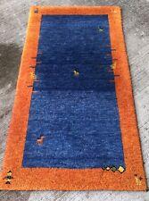 Tapis Gabbeh Indo 160x87cm ModerneNoué Laine teppich rug alfombra tappeto Carpet