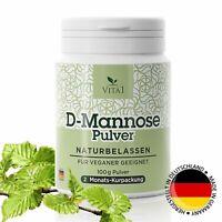 D-Mannose Pulver Hergestellt In Deutschland Vegan   2 Monatskur Kurpackung