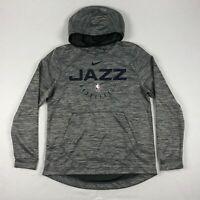 NEW Nike Utah Jazz - Men's Gray Dri-Fit Pullover (Multiple Sizes)