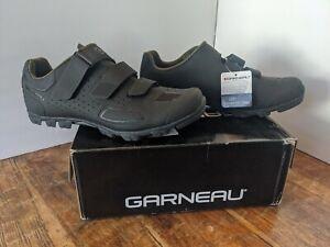 Louis GarneauGravel II Mountain Bike Shoe - Men's black and dark green. New.