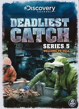 Deadliest Catch - Complete Series 5 - DVD - BRAND NEW SEALED Season 5