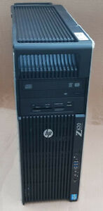 HP z620 - Dual Xeon 10 cores v2 # 2,8 Ghz / 48 Go / SSD / 2 To