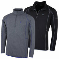 Island Green Golf Mens Long Sleeve Moisture Wicking Mid Layer 54% OFF RRP