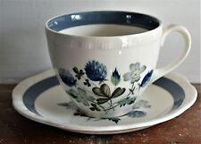 Alfred Meakin Blue Clover Vintage Cup & Saucer
