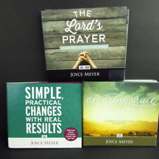 Joyce Meyer Lot 3 Christian Teaching CD Sets Lords Prayer Amazing Grace Results