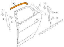 Audi A8 D4 Right Rear Cover Trim 4H4853908B NEW GENUINE