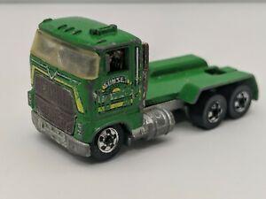 Hot Wheels 1981 Ford Dump Truck Sunset Trucking Hong Kong Free Shipping