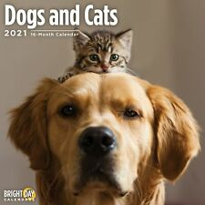 2021 Dogs and Cats Wall Calendar