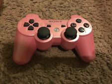 Pink Sony Playstation 3 Dualshock Wireless Controller CECHZC2U TESTED PS3