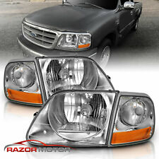 Headlights For 1999 Ford F 150 For Sale Ebay