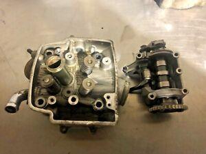 Honda crf 450 cylinder head cam shaft  02 03 04 05 06 07