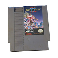 Double Dragon II: The Revenge (NES, 1990) Acclaim Cartridge Only Works Great