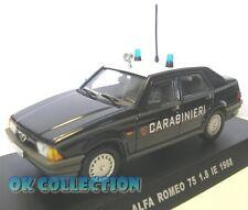 1:43 Carabinieri / Police - ALFA ROMEO 75 - 1.8 IE - 1988 _ (08)