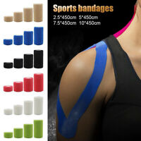 Care Health Muscles Kinesiology Elastic Therapeutic Tape Sports Foot Bandage Gym