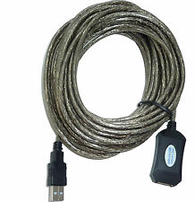 USB 2.0 Verlängerung aktiv / Repeater 10m - aktives USB Verlängerungs-Kabel.