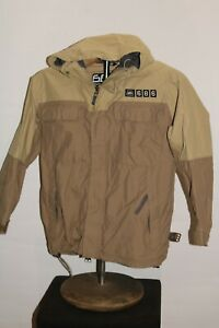 686 Snowboards BOYS medium M hooded Snowboard/snow Jacket missing zip-out lining
