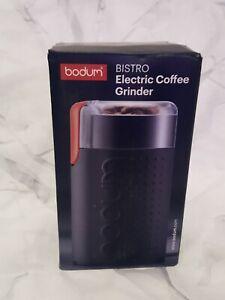 Bodum Bistro Electric Coffee Grinder Open Box