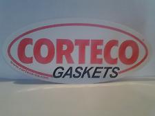 """Corteco Gasket Auto Racing Parts Advertising 9"""" Decal Nos Toolbox Bumper Sticker"""