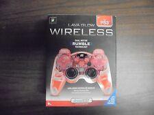 dreamGEAR Lava Glow Wireless PS3 Controller