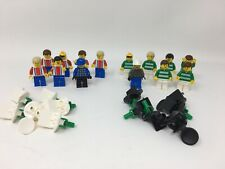 Lego 3409 Soccer Players REPLACEMENT PARTS Set of 14 Includes Goalies & Mounts