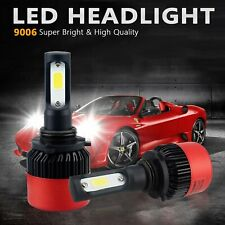 AUXITO 9006 COB LED Headlight 16000LM Kit Fog Bulbs Xenon White Replace Halogens