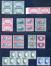 S.Africa 1935 to 1939 commemorative mint horiz. & vertical pairs(2015/12/02#04)