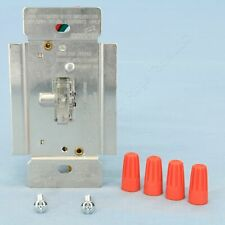 Cooper Clear Lighted Non-Preset Toggle Dimmer 1-Pole 3-Way 1000W 120V TI3101L-K