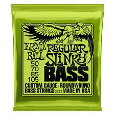 Ernie Ball Regular Slinky Bass Strings 50-105 2832