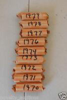 PB10 1977 WASHINGTON QUARTER 40 COINS (MIXED P,D)  CIRCULATED  ROLL