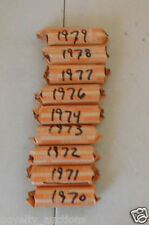 PB10 1970  WASHINGTON QUARTER 40 COINS (MIXED P,D)  CIRCULATED  ROLL