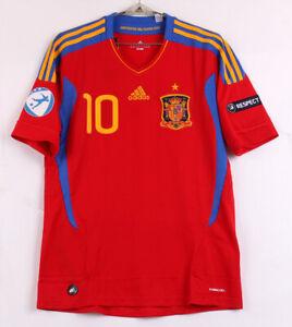 11 Spain Home S/S No.10 MATA 2011 Under-21 Trikot shirt malliot