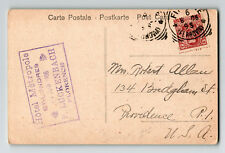 Italy 1906 Postcard / Hotel Metropole Londres Date Stamp - Z13429