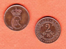 c221 | Denmark, 2 Ore Coins of 1897 and 1909