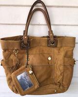 Lilly Brown Leather Handbag Purse