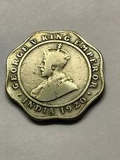 1920 British/India 4 Annas Fine #15713