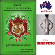 Tiger Capsicum Balm Relief Patches - 8 pcs - 7x10 cm Each-Long Expiry-FAST POST
