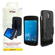Verizon New OEM Shell Holster Combo Kickstand For Samsung Galaxy Nexus - Black